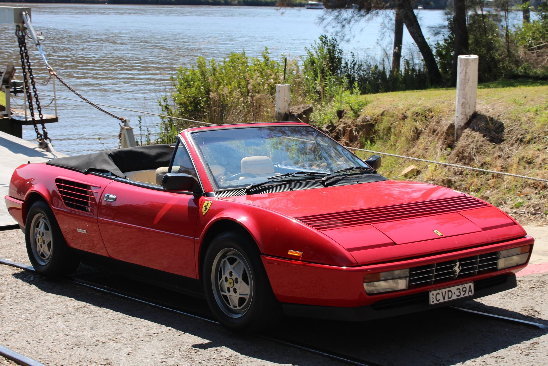Sophia Ferrari Mondial Vintage And Classic Car Hire