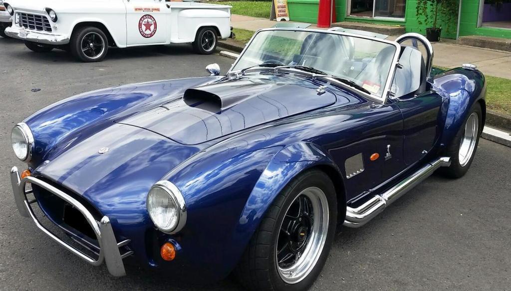 AC Cobra Sydney Sports Car rental