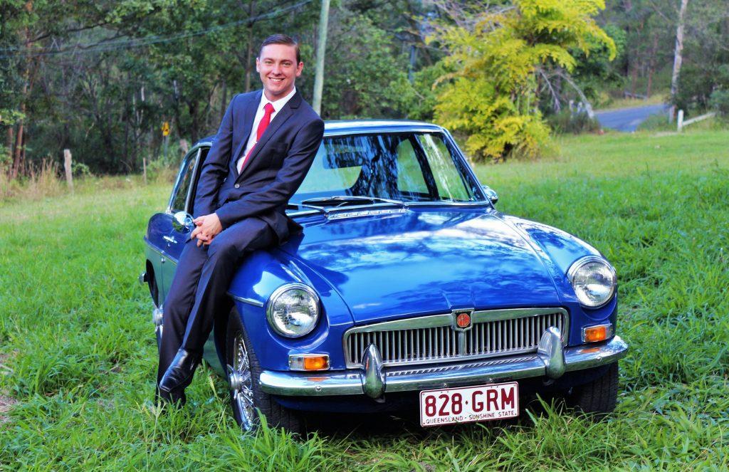 """""""Jeremy"""" – 1970 MGB GT"""