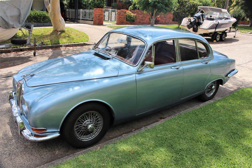 """Ronnie"" – Jaguar Mk 2, S-Type"