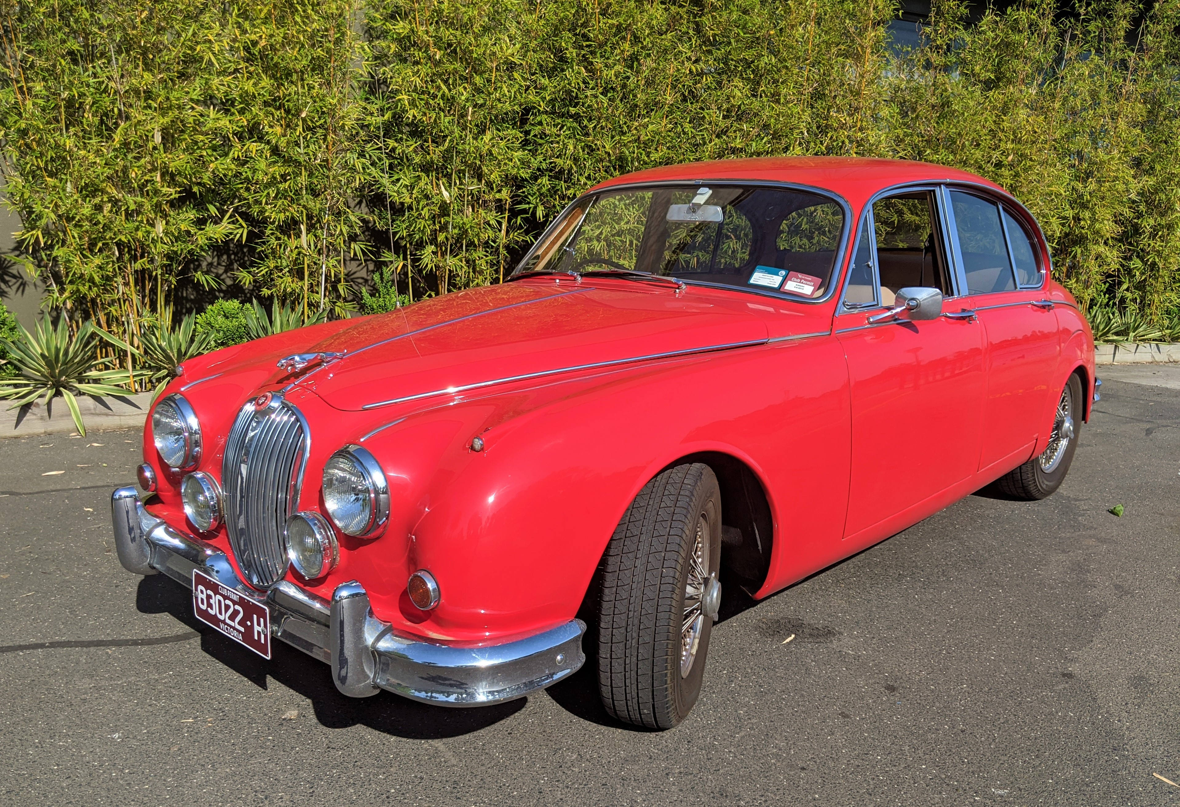 """Tiddles"" – 1962 Jaguar Mark 2"